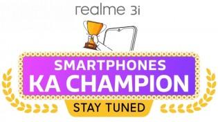 Realme 3i will be a toned down Realme 3