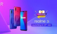 Realme 3i arriving on July 15, specs and design revealed