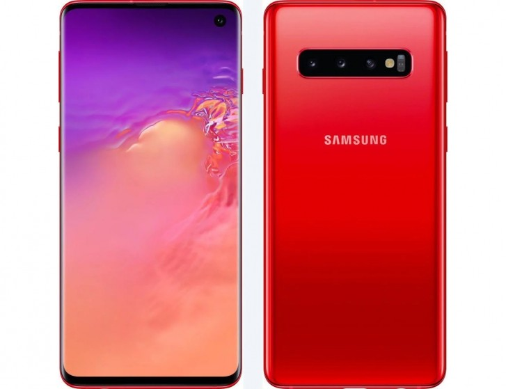 Cardinal Red Galaxy S10 launches in the UK exclusively at EE