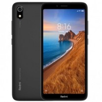 Redmi 7A in Matte Black color
