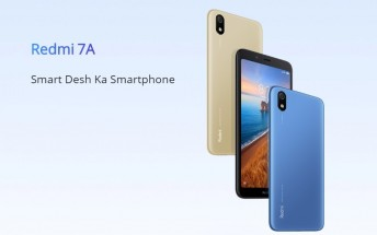Redmi 7A arrives in India with a 12MP Sony IMX486 sensor,  sales start July 11