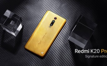 Redmi K20 Pro Signature Edition unveiled, comes with diamonds and pure gold