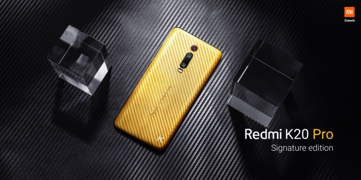 Redmi K20 Pro Signature Edition unveiled, comes with pure gold and diamonds
