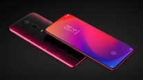 Redmi K20/K20 Pro in Flame Red, Glacier Blue, and Carbon Fiber colors