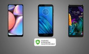 Samsung Galaxy A10s, Moto E6 and LG X2 (2019) appear on Android Enterprise Directory