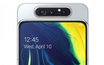 Samsung launches the Galaxy A80 in India