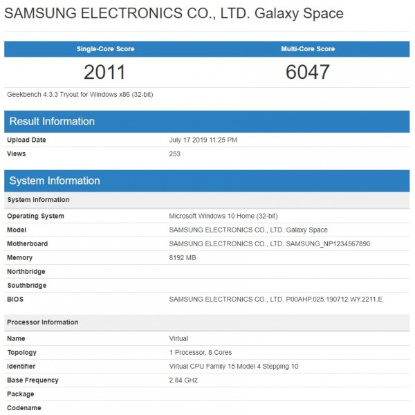 Samsung Galaxy Book S incoming with Snapdragon 855 and Windows 10