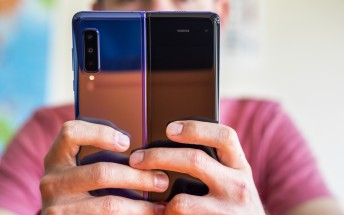 Redesigned Samsung Galaxy Fold caught in the wild