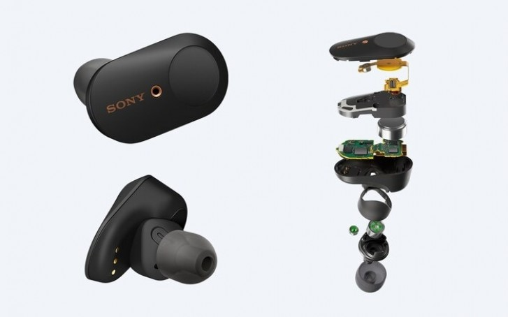 Sony releases the new WF-1000XM3 wireless noise-cancelling earbuds