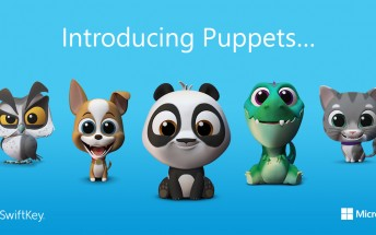 SwiftKey adds new animated Puppets in latest Android beta