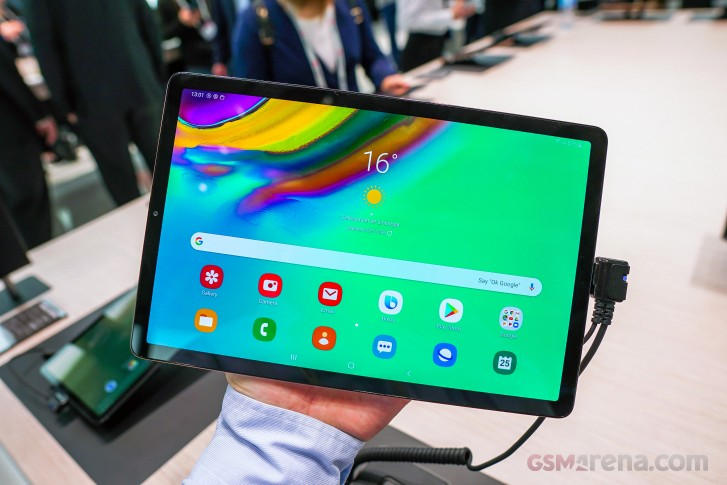Samsung Galaxy Tab S5e update brings Bixby Voice support, call and message continuity