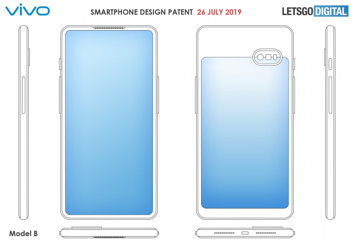 Two more dual-display designs from vivo surface