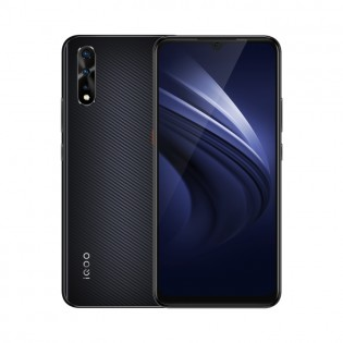 vivo iQOO Neo in Purple and Black