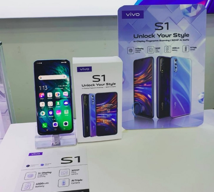 Vivo S1 India pricing leaks - three variants in total