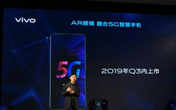 vivo V1916A with 5G capabilities and 44W charger certified in China