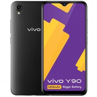 vivo Y90 in Black color