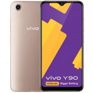 vivo Y90 in Gold color
