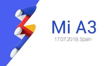 Xiaomi Mi A3 announcement scheduled for July 17