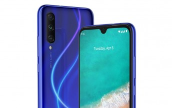 Xiaomi Mi A3 specs and renders surface