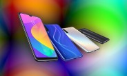 A closer look at how Xiaomi created the iridescent backs of the  Mi CC9 and CC9e