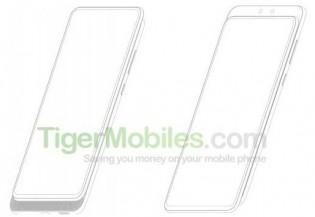 ZTE smartphone with slider design and dual selfie cameras