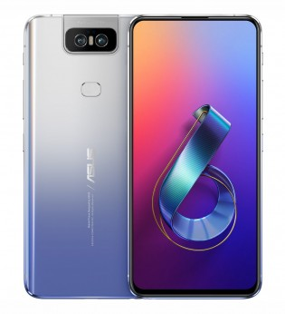 The Asus Zenfone 6 in Twilight Silver