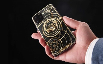 Caviar wastes no time, decks iPhone 11 in meteorites
