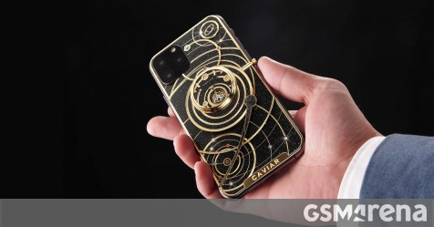 Caviar wastes no time, decks iPhone 11 in meteorites - GSMArena.com news - GSMArena.com thumbnail