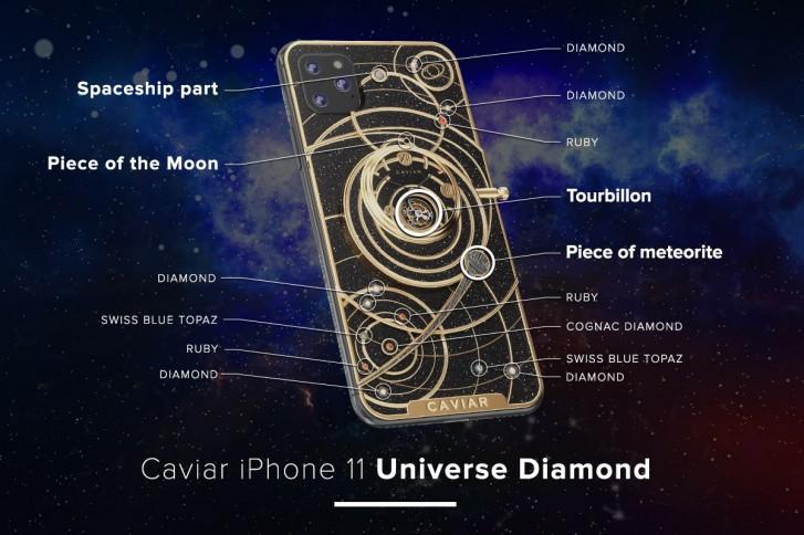 Caviar wastes no time, decks iPhone 11 in meteorites