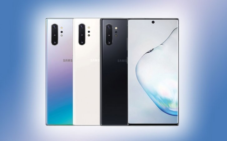 Blue Galaxy Note10+ pops up hours before launch