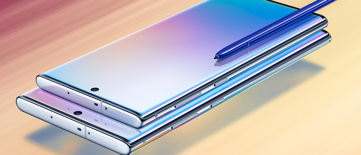 Samsung Galaxy Note10 and Note10+ arrive with new S Pen, faster
