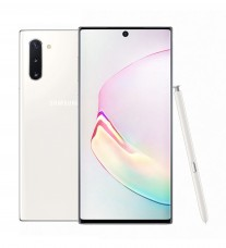 Samsung Galaxy Note10 in Aura White