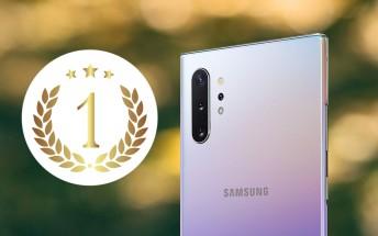 Samsung Galaxy Note10+ 5G tops DxO charts for both main camera and selfies