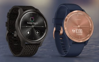 Six Garmin smartwatches leak, Vivomove Style has watch hands and color screen