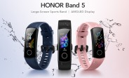 Honor Band 5 launched in India with AMOLED display and heart rate monitor