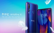 HTC Wildfire X announced with Helio P22 and triple rear camera