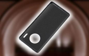 Huawei Mate 30 Pro case confirms circular camera design