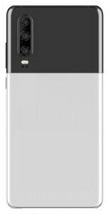 Huawei P30 em um trabalho de pintura de dois tons