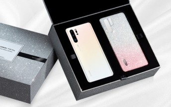 Limited edition Huawei P30 Pro gets Swarovski crystal case
