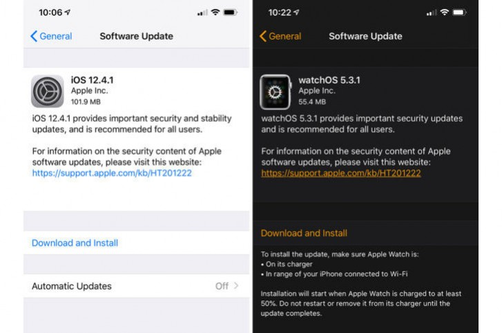 Apple fixes major iOS vulnerability with release of iOS 12.4.1