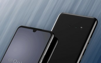 LG G8X images show a bigger screen with a smaller notch, 3.5mm jack