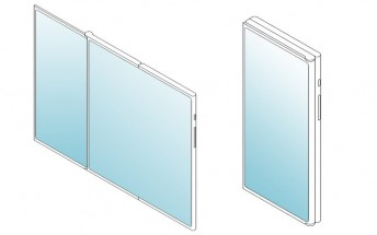 LG patents a three-piece, two-display foldable screen phone design with no ports