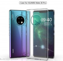 Previously depicted Huawei Mate 30 Pro design