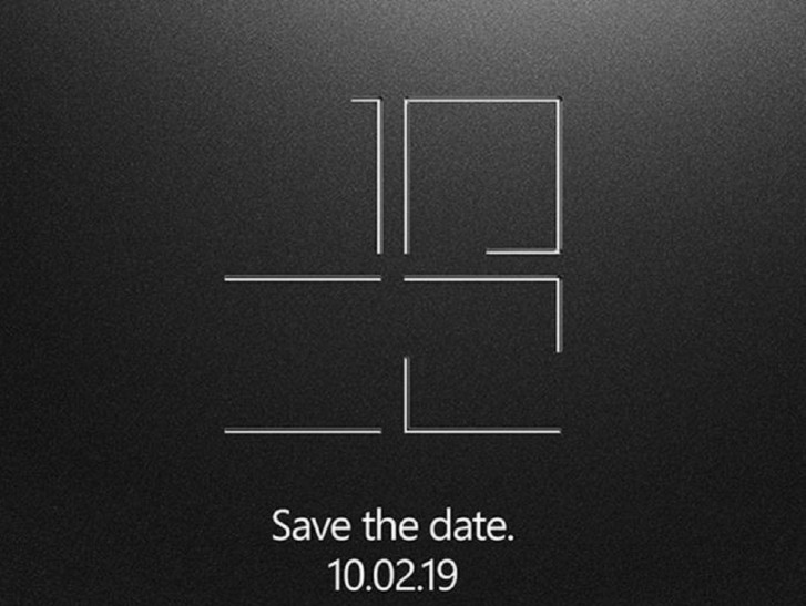 Microsoft's next Surface event is on October 2 in NYC