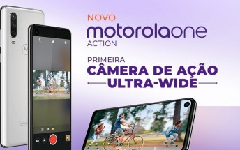 Motorola One Action going official tomorrow