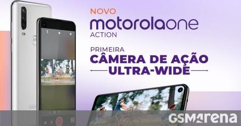 Motorola One Action going official tomorrow - GSMArena.com news - GSMArena.com thumbnail