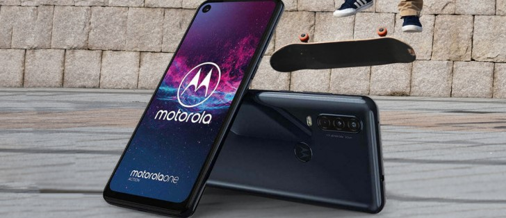 The Motorola One Action unveiled with an ultrawide camera, 21:9 screen