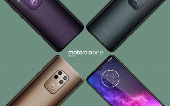 Motorola One Zoom detailed specs surface