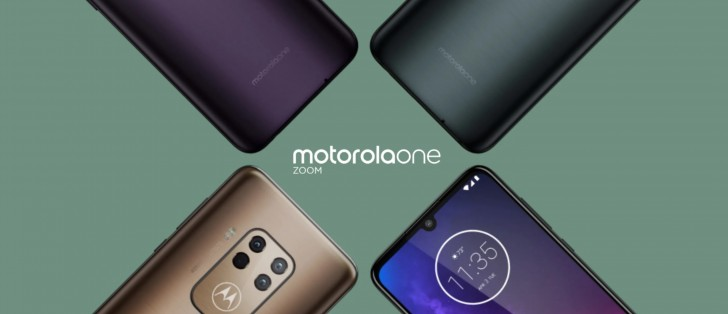 Motorola One Zoom with quad camera leaked by an online store