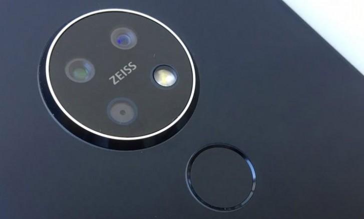 Nokia 7.2 superfícies em mais fotos hands-on